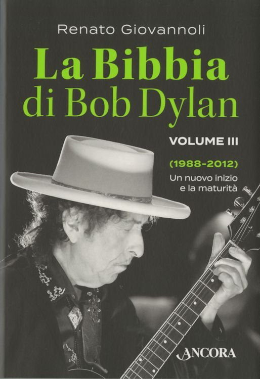 bibbia de bob dylan volume 3 book in Italian