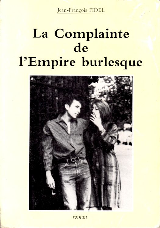 la complainte de l'empire burlesque bob dylan book in French