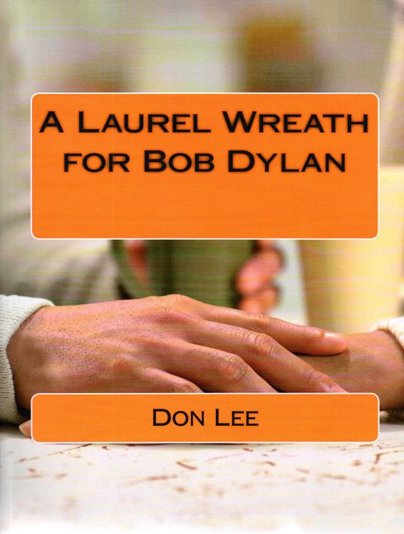 laurel wreath for Bob Dylan book