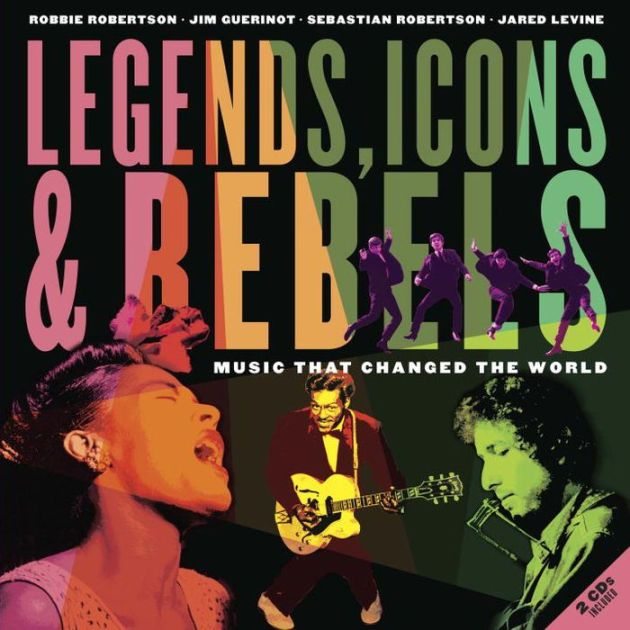 legends, icons and rebels Bob Dylan book