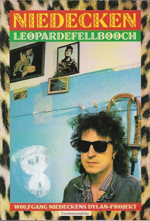leopardfellbooch niedeken bob dylan book in German