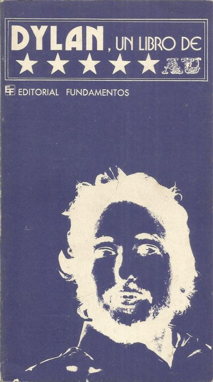 bob dylan un libro de a.u. book in Spanish