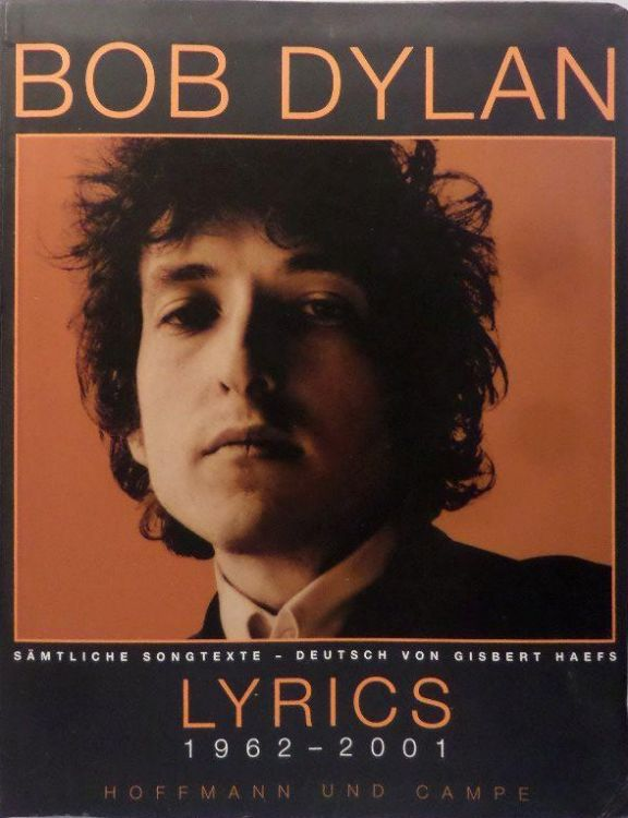 lyrics 1962-2001 bob dylan book in German