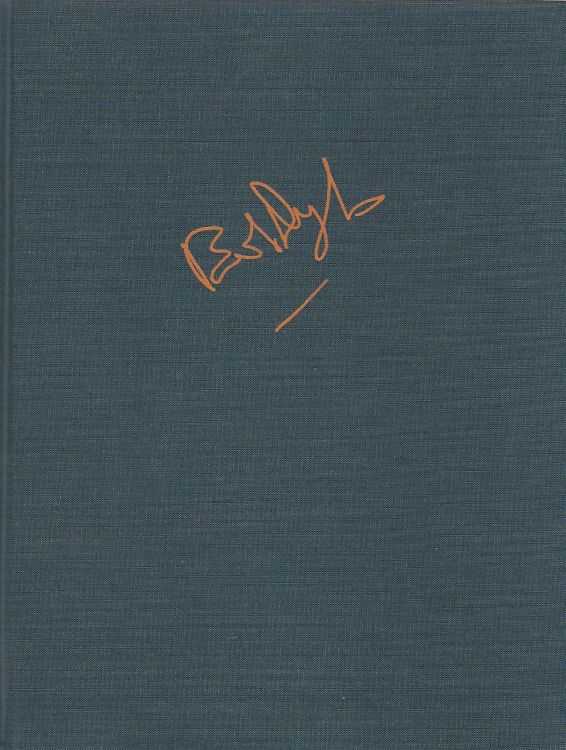 lyrics 1962-2001 bob dylan limited edition slipcase in German