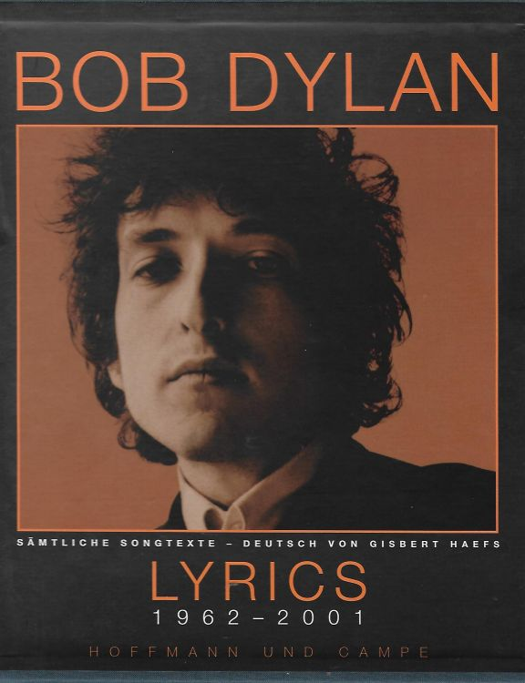 lyrics 1962-2001 bob dylan limited edition book in German