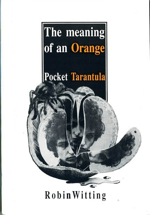 meaning of an orange Bob Dylan book