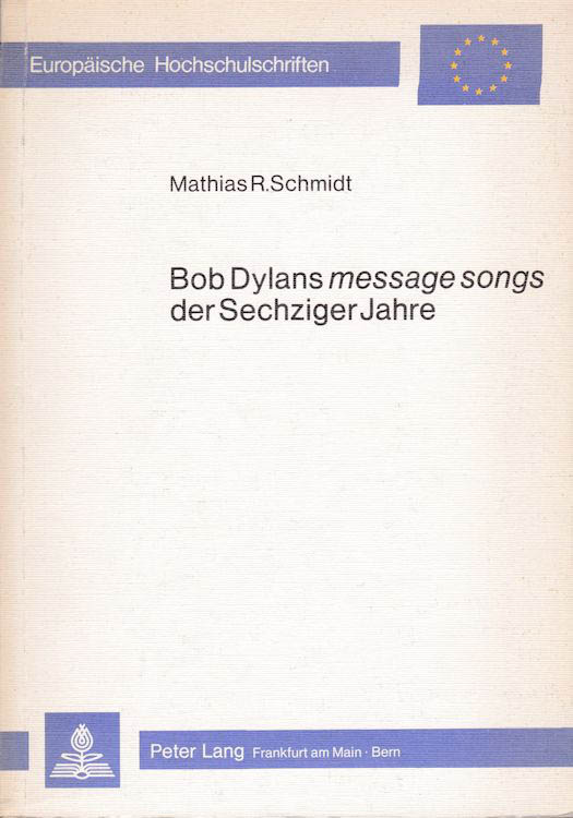 message songs bob dylan book in German