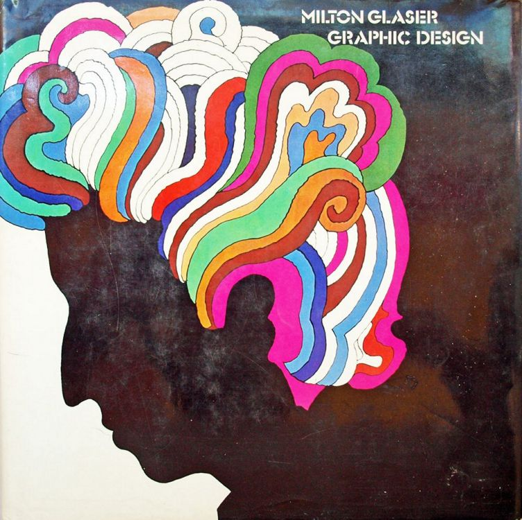 milton glazer graphic design Bob Dylan book