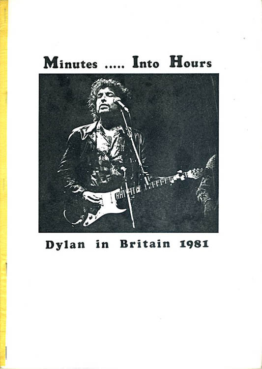 minutes into hours Bob Dylan book