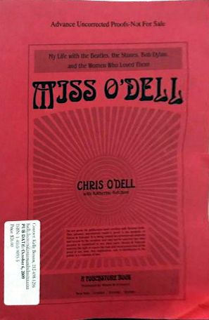 miss o'dell proof Bob Dylan book