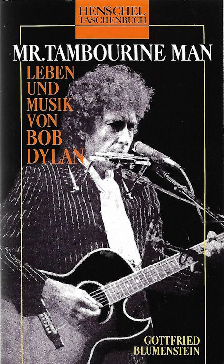 mr. tambourine man bob dylan book in German
