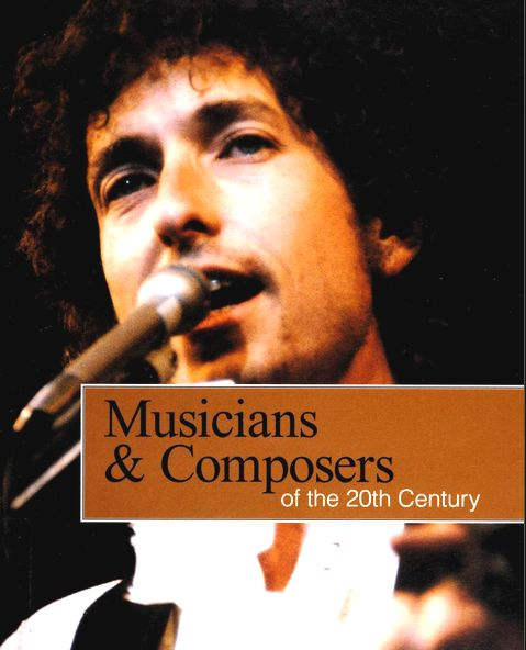 musicians composers of the 20th century Bob Dylan book