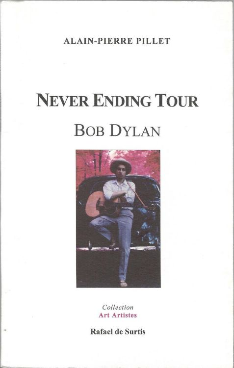 never ending tour bob dylan book in French