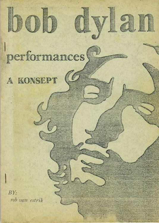 performances a konsept Bob Dylan book