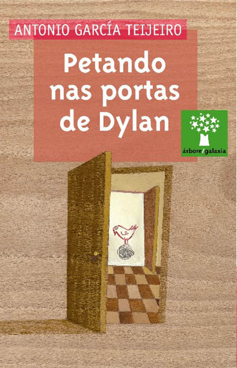 Dylan book in Galician Petando las portas de Dylan