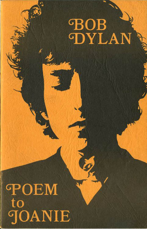 poem to joanie orange cover Bob Dylan book