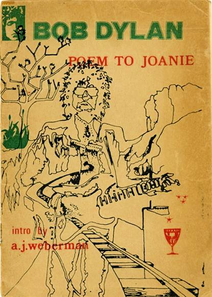 poem to joanie brown cover Bob Dylan book