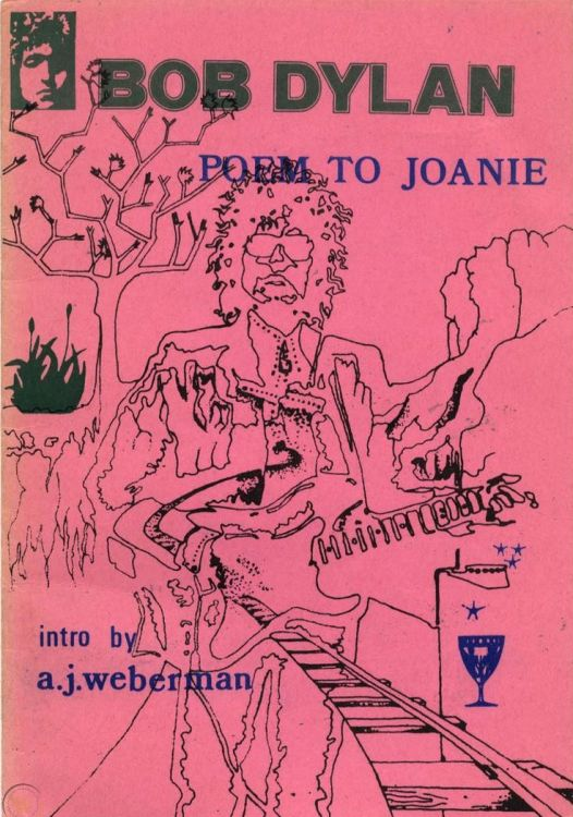 poem to joanie pink cover Bob Dylan book