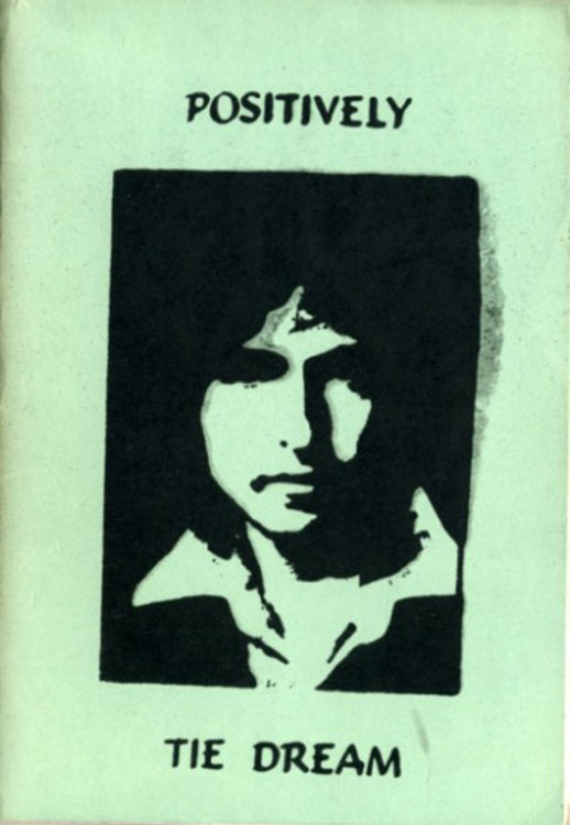 positively tie dreams Bob Dylan book alternate cover