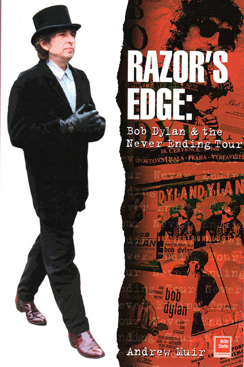 razor'sedge hardcover Bob Dylan book