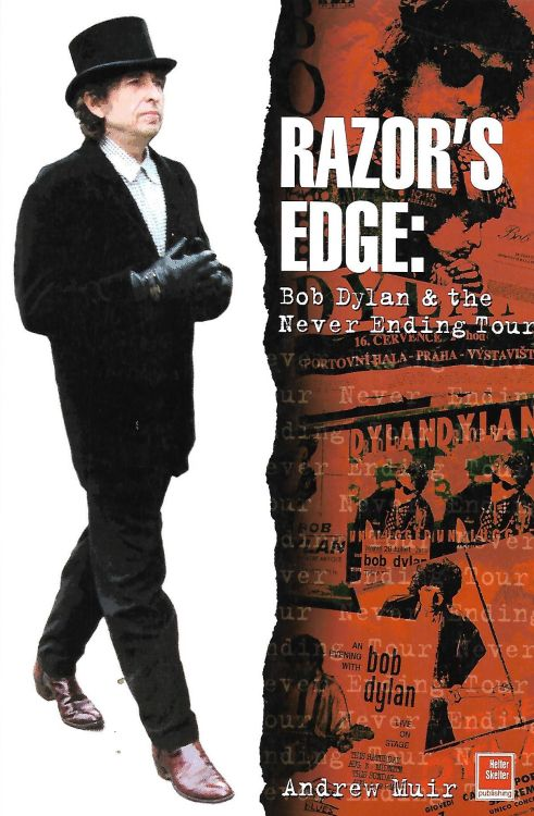 razor'sedge softcover Bob Dylan book