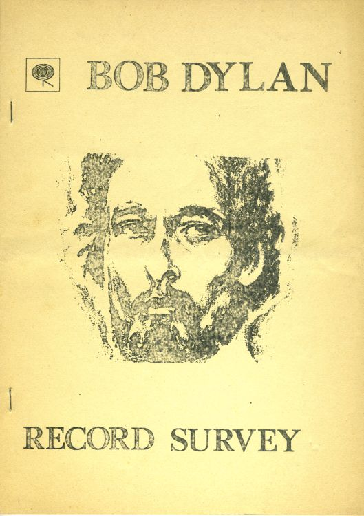 record survey Bob Dylan book