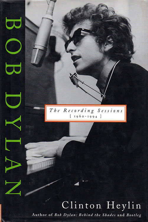 recording sessions 1960-1994 hardcover Bob Dylan book