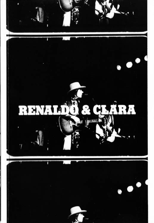 renaldo and clara Dylan book in Danish