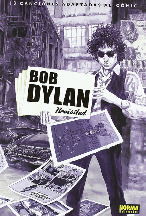 bob dylan revisited 13 canciones adaptadas al comic book in Spanish