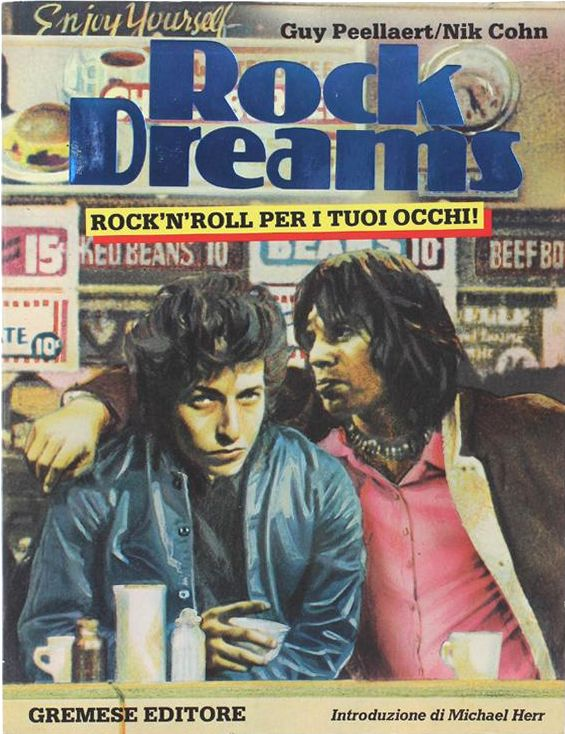 rock dreams Gremese Editori 1982 bob dylan book in Italian