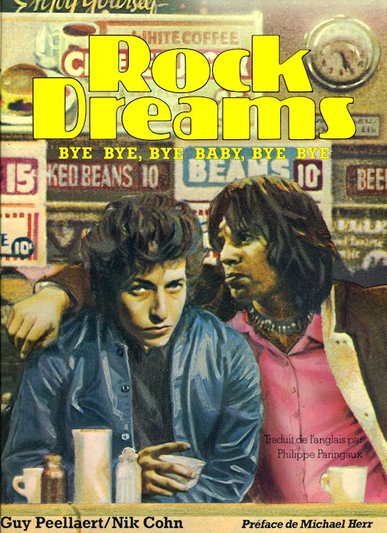 rock dreams bob dylan book in French 1973
