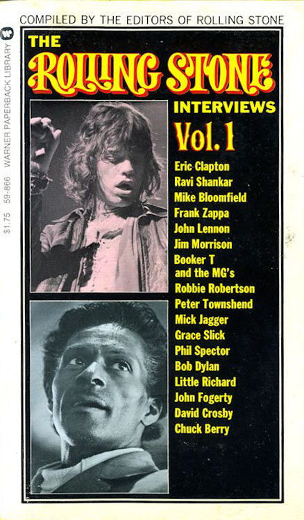 the rolling stone interviews volume 1 Bob Dylan book