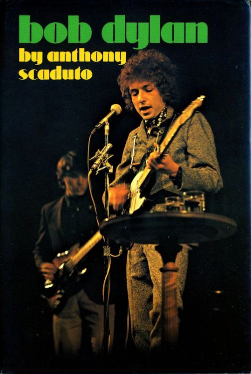 ボブ・ディランbob dylan scaduto Japanese translation Charles E. Tuttle Company 1971 book in Japanese