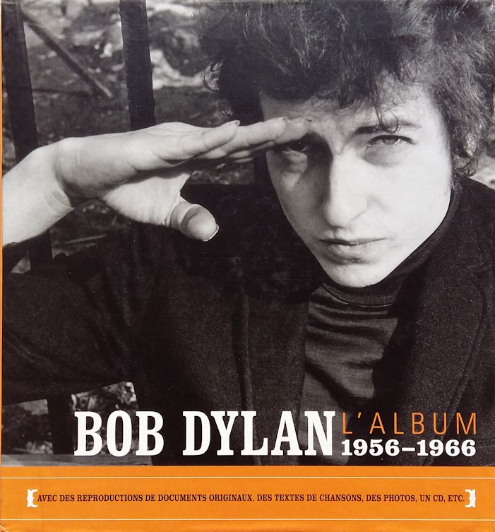 bob dylan l'album 1956-1966 book in French