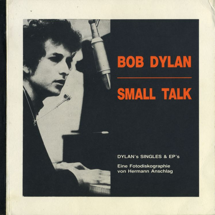 small talk bob dylan's singles book in German