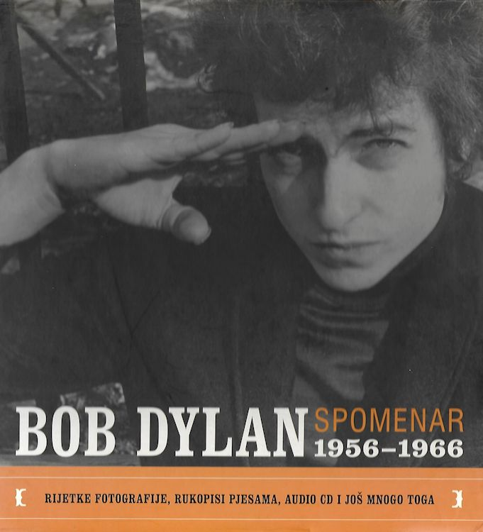 bob Dylan spomenar book in Croatian