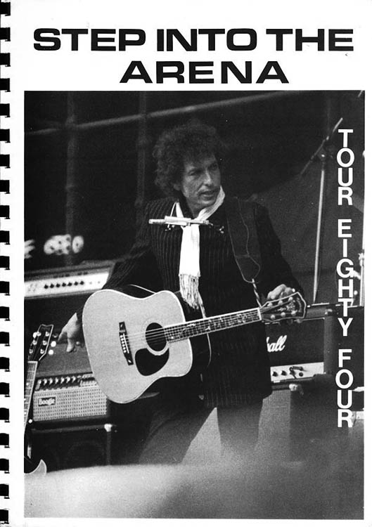 step into the arena Bob Dylan book