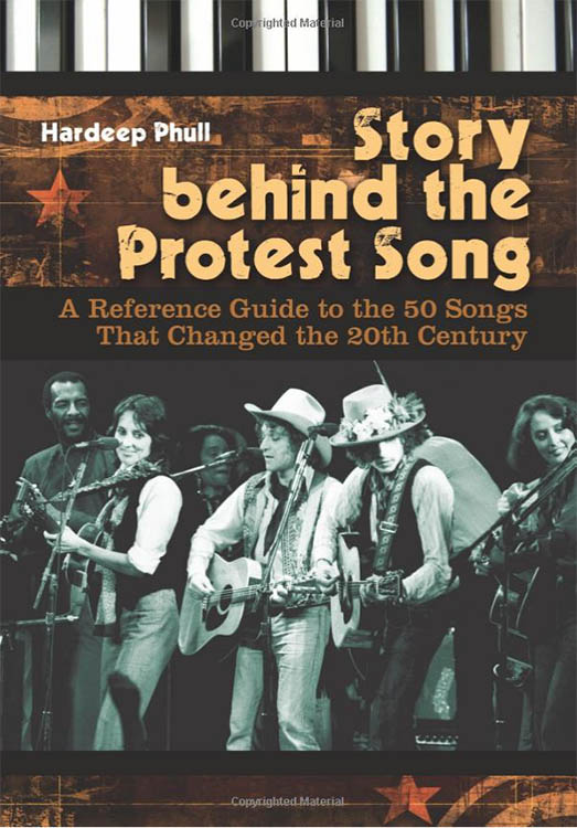 story behind the protest song Bob Dylan book