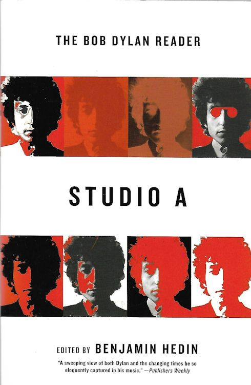 studio a the Bob Dylan reader paperback Bob Dylan book