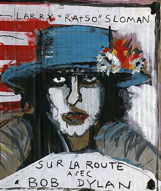 sur la route avec bob dylan book in French