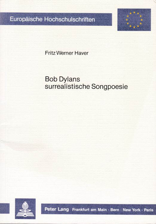 surrealistische songpoesie bob dylan book in German