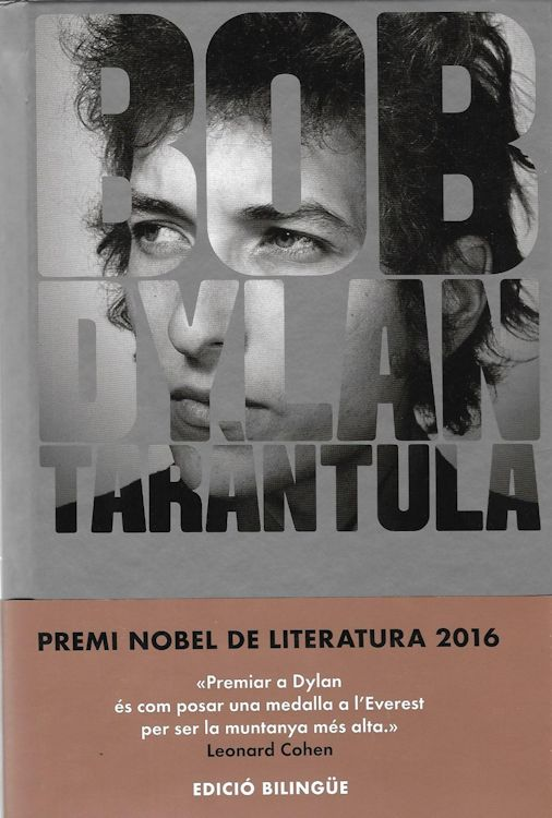 tarantula Bob Dylan book in Catalan