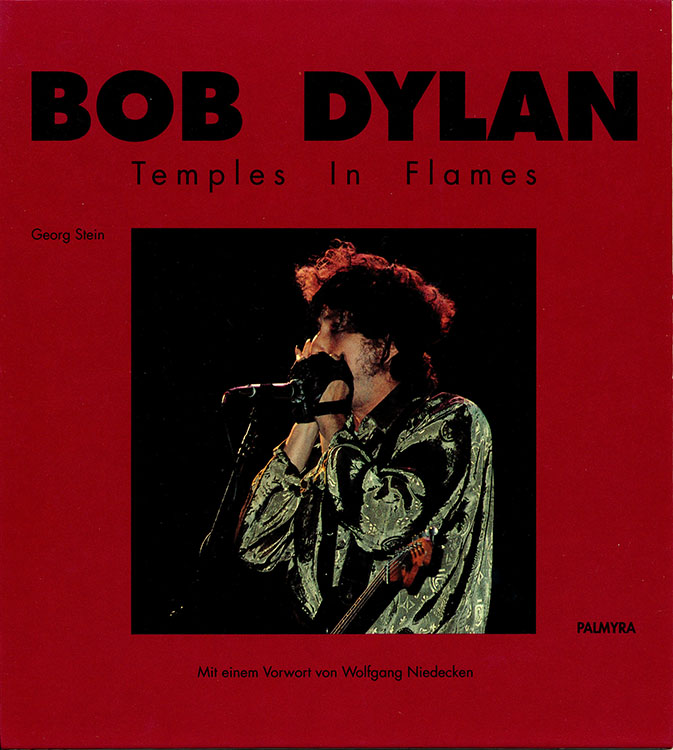 temples in flames bob dylan book in German