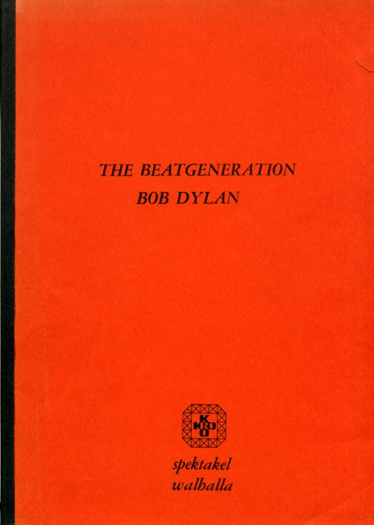 beat generation bob dylan book in Dutch