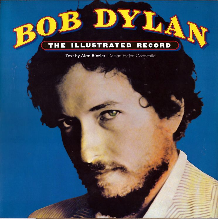 the illustrated record alan rinzler 1978  softcover Bob Dylan book