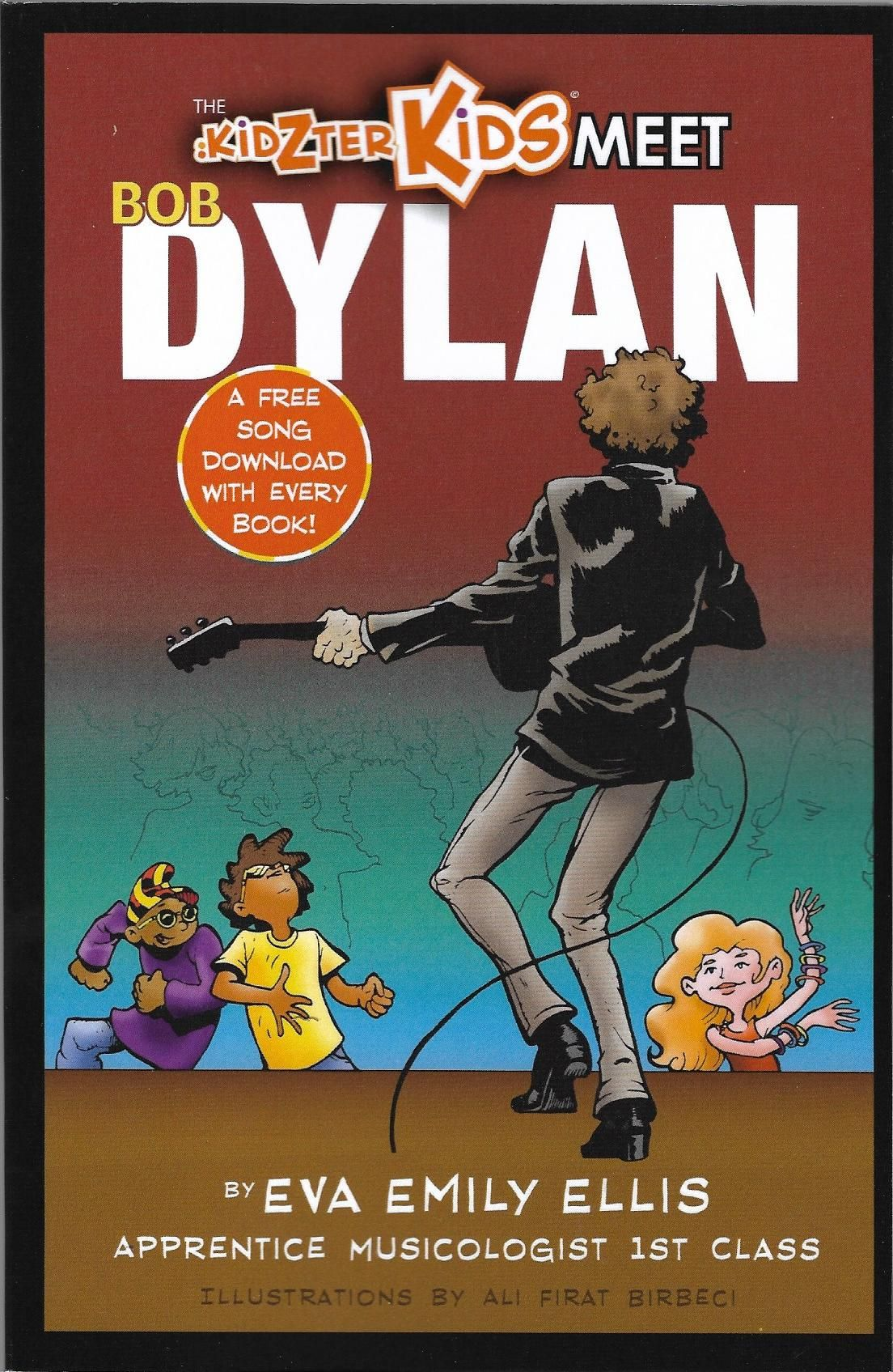 kidzer kids meet Bob Dylan book
