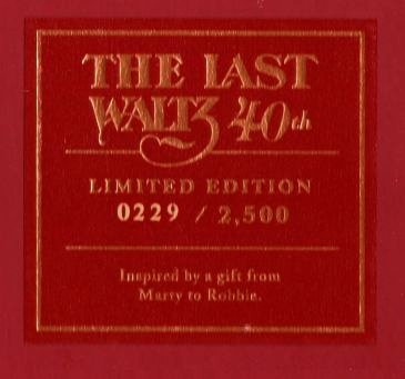 the band last waltz 40th Bob Dylan book number 229