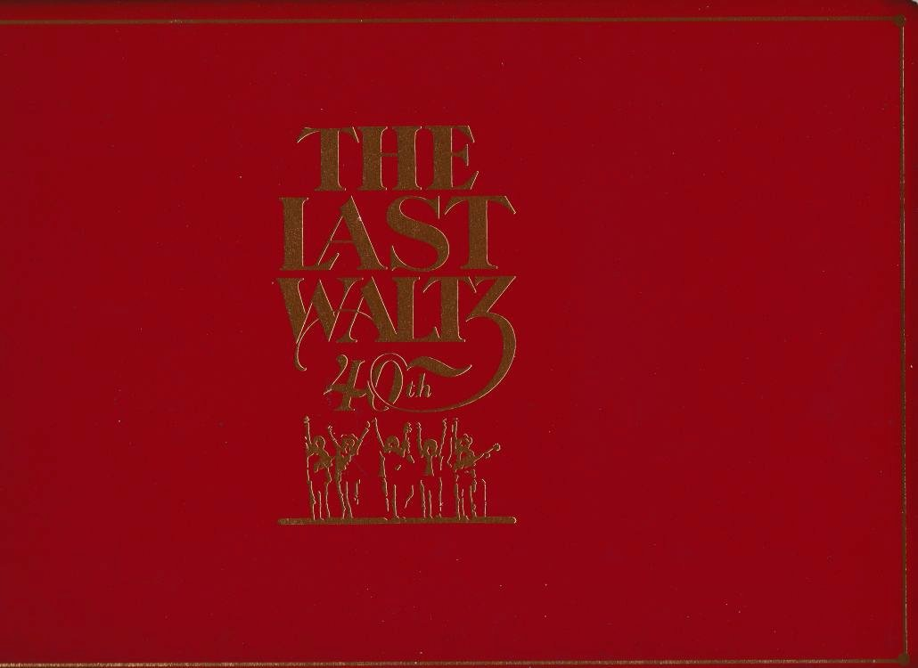 the band last waltz 40th Bob Dylan book