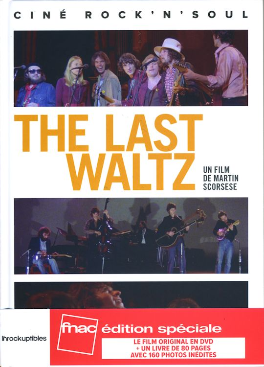 last waltz un film de martin scorsese bob dylan book in French with obi
