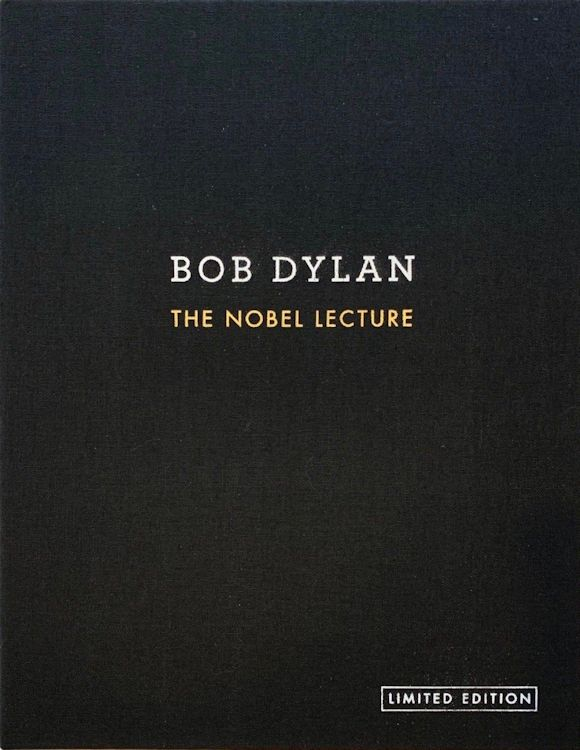 the nobel lecture signed Bob Dylan book